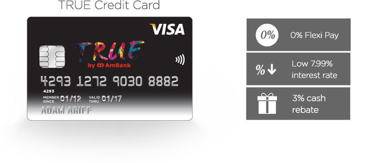 TRUE Credit Card